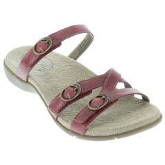 Taos Captive Red Sandals