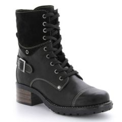 Taos Crave Leather Black Boots