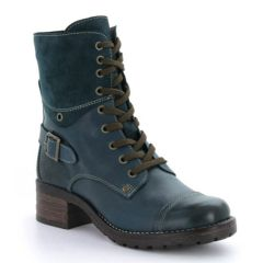 Taos Crave Leather Teal Boots