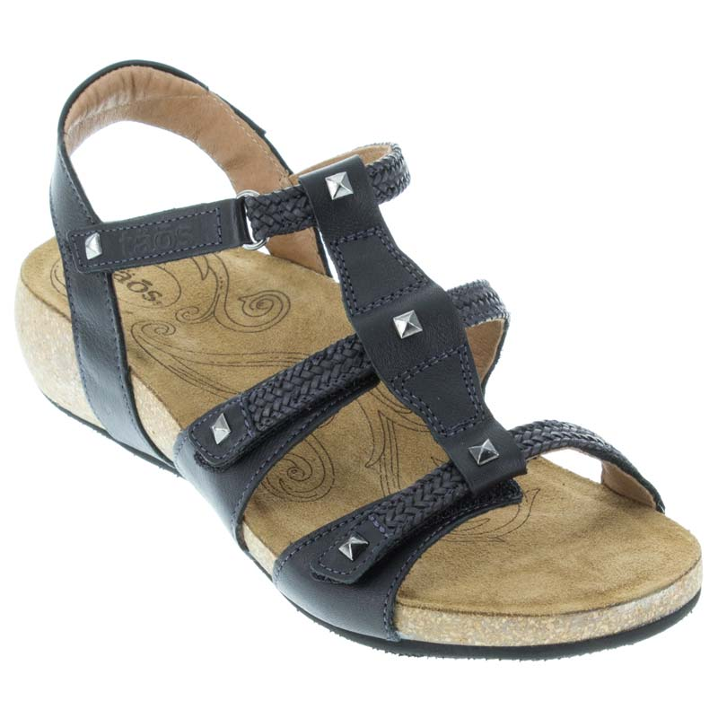 Taos Eleanor Black Sandals