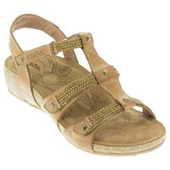 Taos Eleanor Camel Sandals