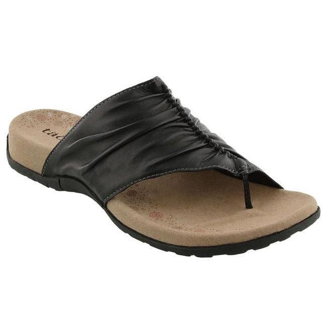 Womens Taos Gift 2 Black Leather Happyfeet Com