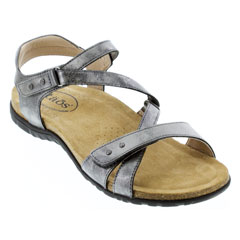Taos Grand Z Pewter Sandals