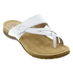 Taos Perfect White Sandals