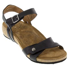 Taos Sadie Black Sandals