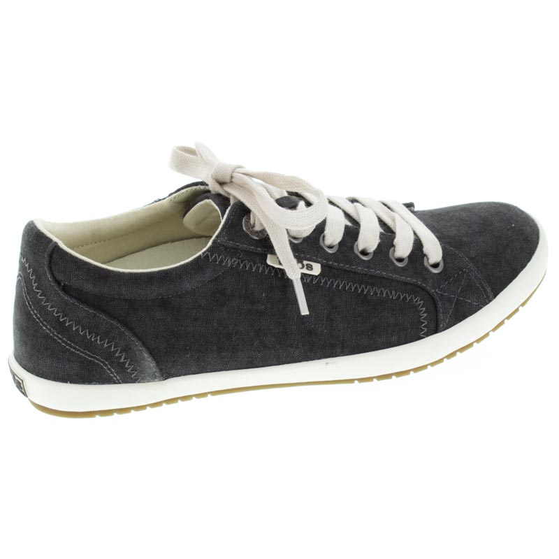 Taos Star Charcoal Wash Canvas right side right shoe