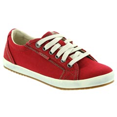 Taos Star Canvas Red Shoes