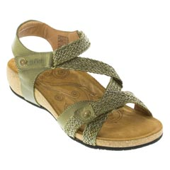 Taos Trulie Herb Green Sandals