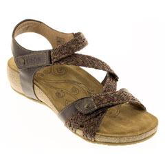 Taos Trulie Dark Brown Sandals