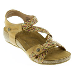 Taos Trulie Tan Multi Sandals