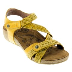 Taos Trulie Golden Yellow Sandals
