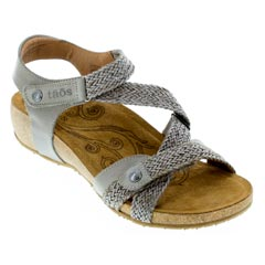 Taos Trulie Light Grey Sandals