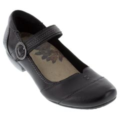 Taos Virtue Leather Black Shoes