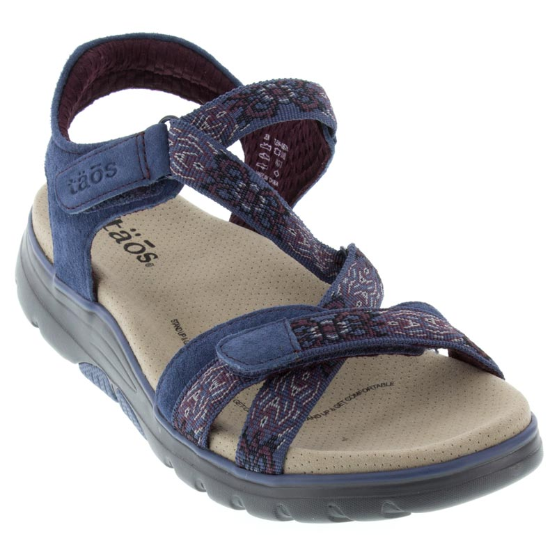 Taos Zen Blue Sandals