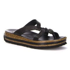 Think Zega Black Sandals