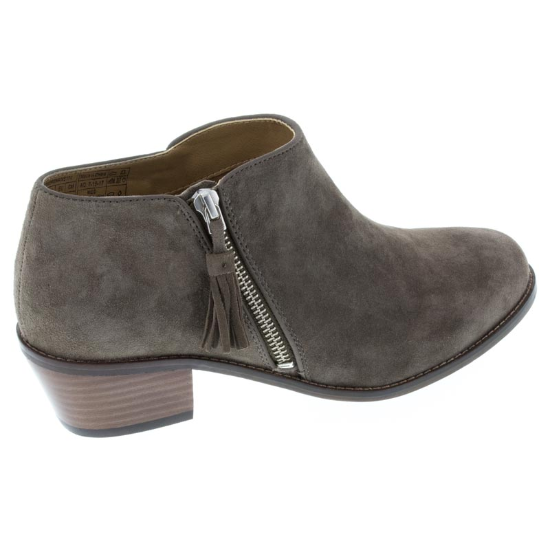 Vionic Serena Griege Suede Boot right side view
