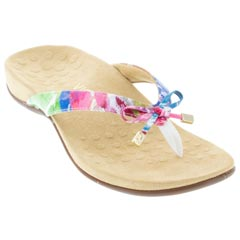 Vionic Bella 2 White Floral Sandals