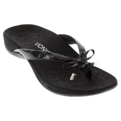 6f903729d2e Vionic Bella 2 Synthetic Black Sandals