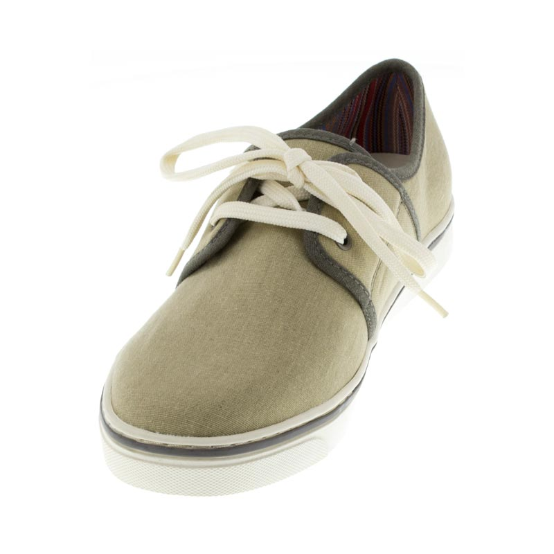 Vionic Bryson Wheat Textile left side front right shoe