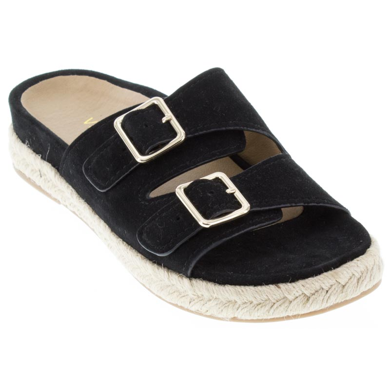 Vionic Gia Black Sandals