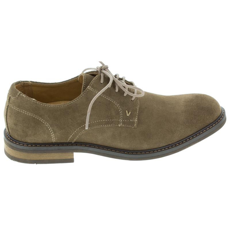 Vionic Graham Tan Suede right side view