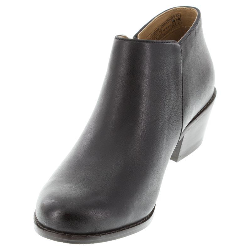 bc8be1b5b58 Womens Vionic Jolene Black Leather - Happyfeet.Com