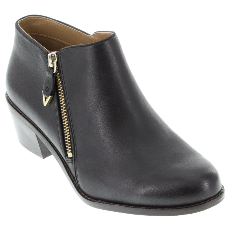 Womens Vionic Jolene Black Leather