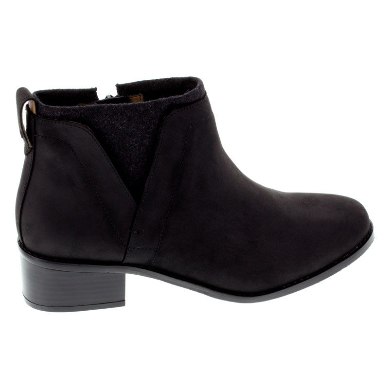 Vionic Joslyn Black Leather