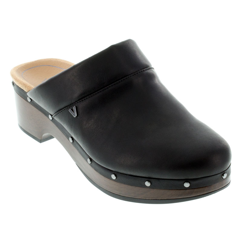 Womens Vionic Kacie Black Leather