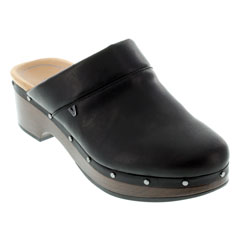 Vionic Kacie Black Clogs