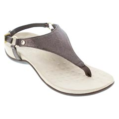 Vionic Kirra Bronze Metallic Sandals
