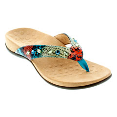 Vionic Lucia Blue Teal Sandals