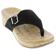 Vionic Marbella Black Sandals