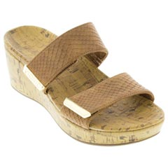 Vionic Pepper Tan Snake Sandals