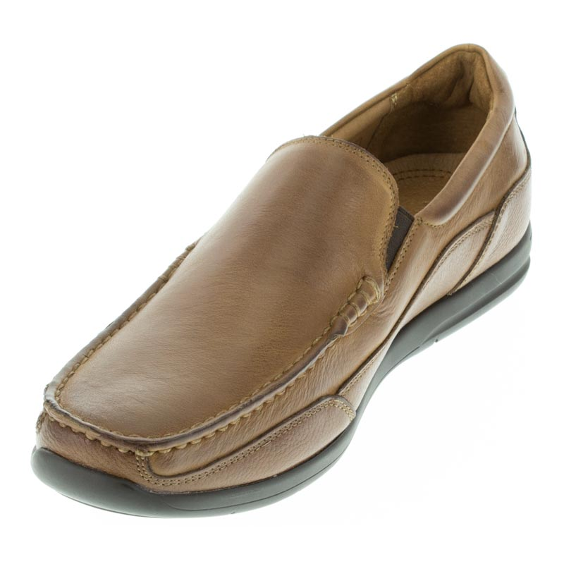 Vionic Preston Tan Leather right side front right shoe