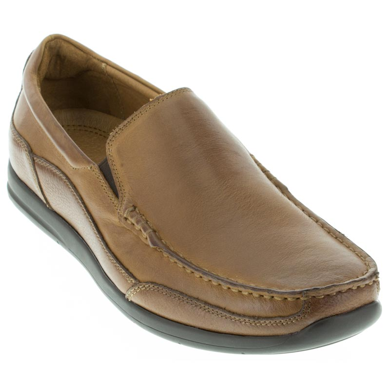 Vionic Preston Tan Leather 115 M