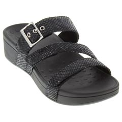 Vionic Rio Black Sandals