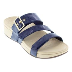 Vionic Rio Navy Lizard Sandals