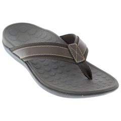 Vionic Tide Synthetic Brown Sandals