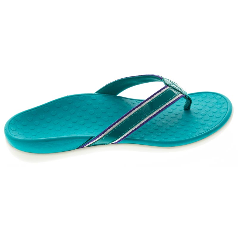 Vionic Tide Sport Teal Leather right side right shoe