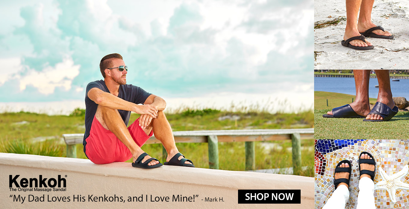 Kenkoh Massage Sandals - get pain and stress relief