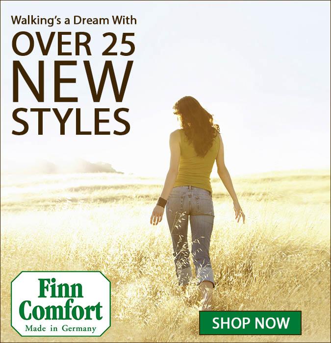 Over 25 NEW Finn Comfort Styles