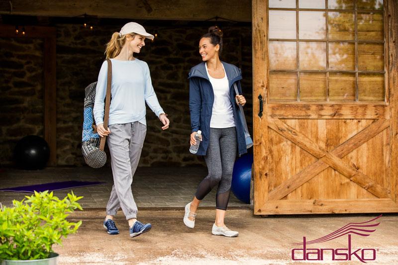 women-walking-wearing-workout-shoes-after-yoga