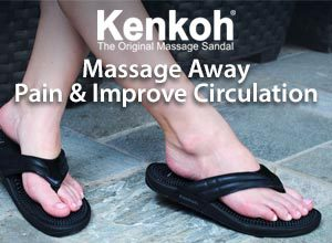 Massage Away Pain and Improve Circulation with Kenkoh