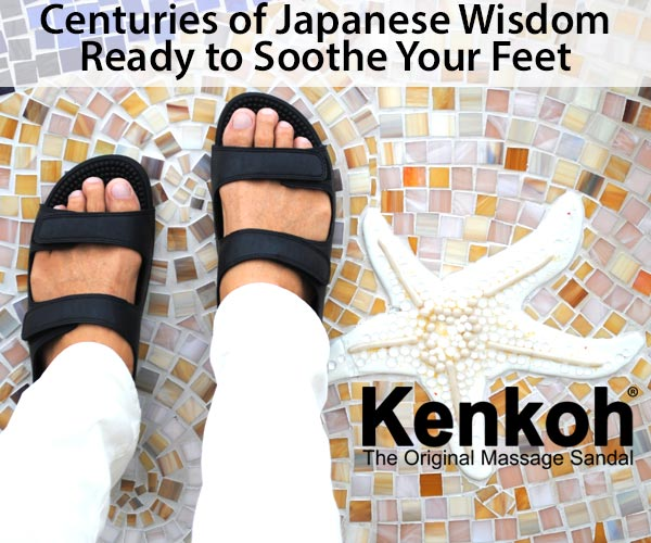 Centuries of Japanese Wisdom Ready to Soothe Your Feet