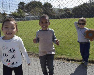 Students at Northern Light School, Oakland, CA