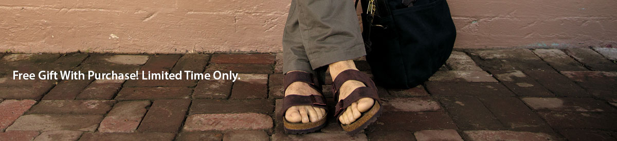 Birkenstock Men's Sandals look great and feel even better