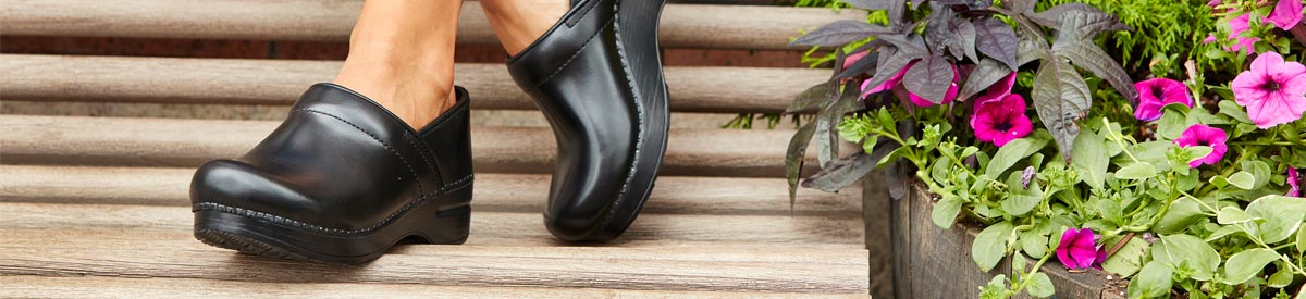 For medical, culinary, and office professionals, or for casual use, shop Dansko Clogs