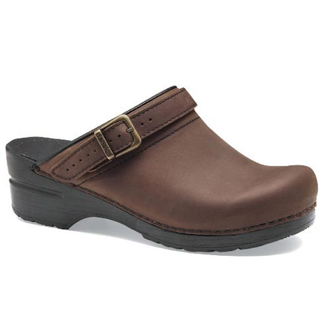 Dansko Ingrid Leather Antique Brown