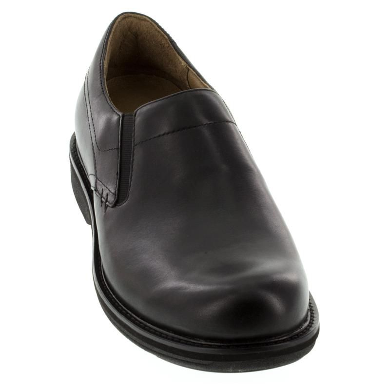 Dansko Jackson Black Leather Slip-Resistant